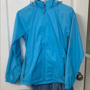 L.L.Bean Lined Raincoat